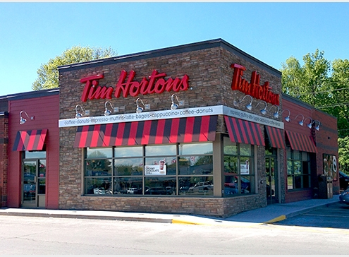 Tim Hortons Restaurants throughout Ottawa & surrounding areas