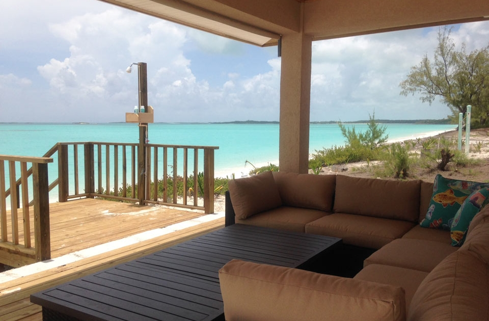 Residential - Aqua Terra Exuma house - rear porch