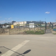 Commercial project - 2140 Carling Rd. - site preparation - site stripping, excavation, site fencing