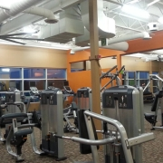 Commercial project - Anytime Fitness - furnished