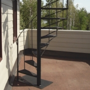 Custom welding - exterior staircase