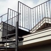 Custom welding - exterior staircase and balcony
