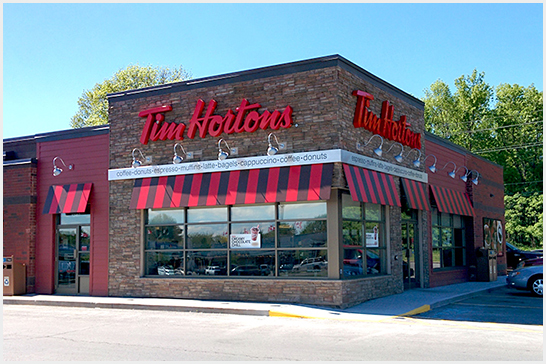 Tim Hortons Restaurants throughout Ottawa & surrounding areas