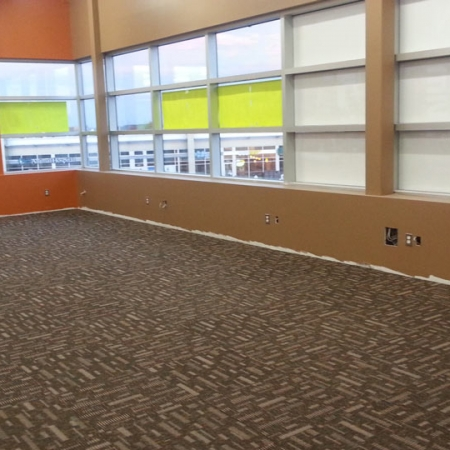 Commercial - Anytime Fitness interior floor