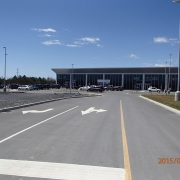 Interior Fit-up project - McIntosh Perry Kingston office- parking lot view