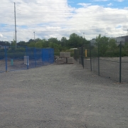 Commercial project - March Rd. - fence required for various constructors