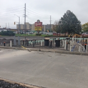 Commercial project - Wendy's at Gardiners Rd., Kingston - flagship store - new design, first in ontario - foundation