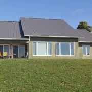 Residential project - Vogt house - rear view